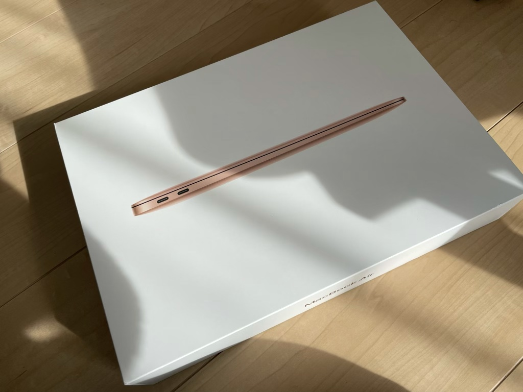 MacBook Air外箱