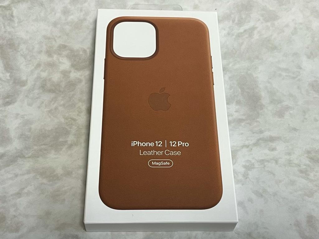 iPhone 12 Pro用レザーケース外箱