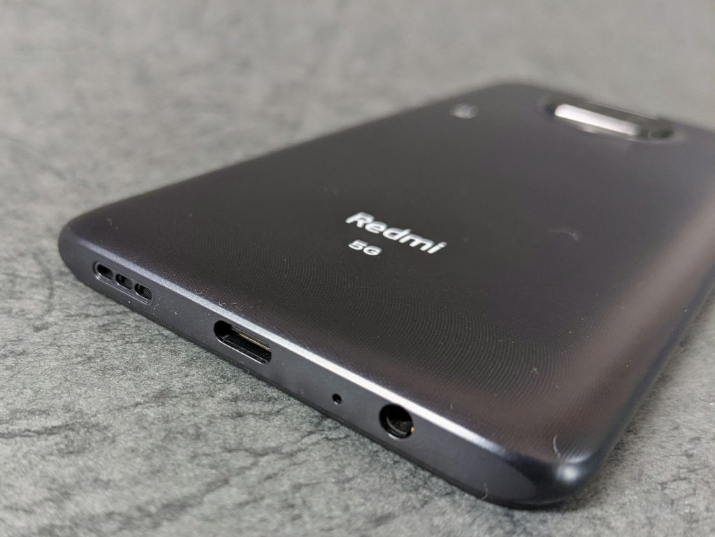 Redmi Note 9T充電端子