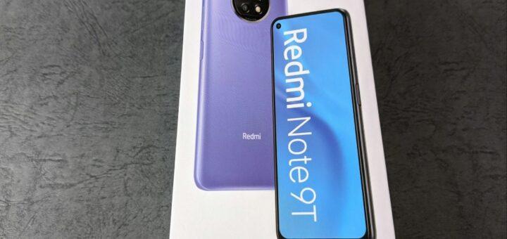 Redmi Note 9T外箱