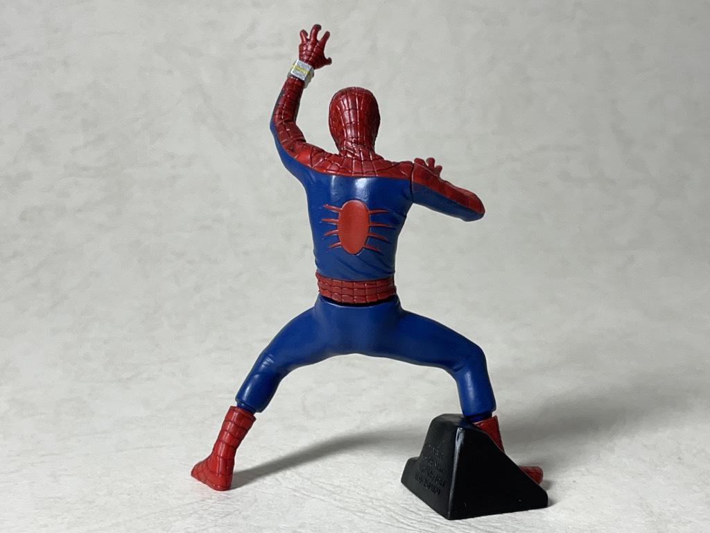 スパイダーマン背面