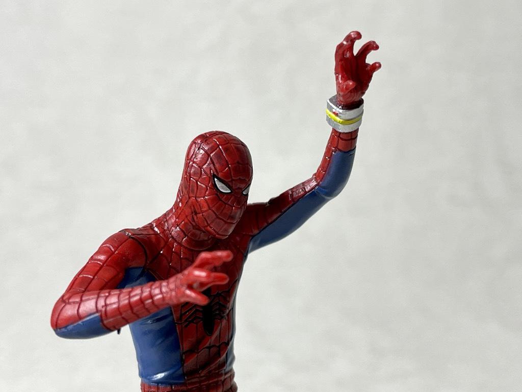 スパイダーマン横顔