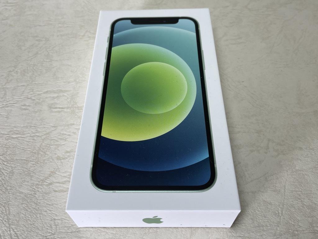 iPhone 12 mini外箱