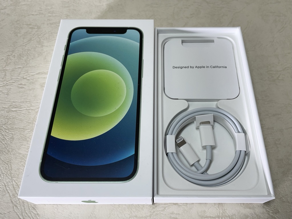 iPhone 12 mini付属品