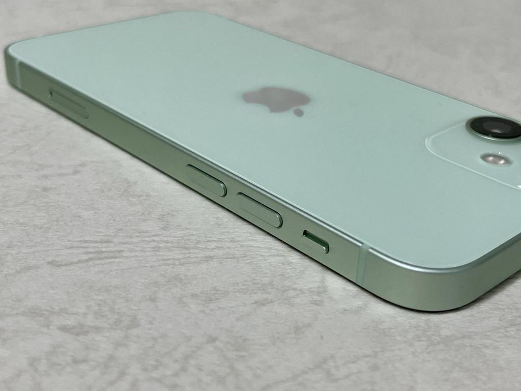 iPhone 12 mini電源・音量ボタン