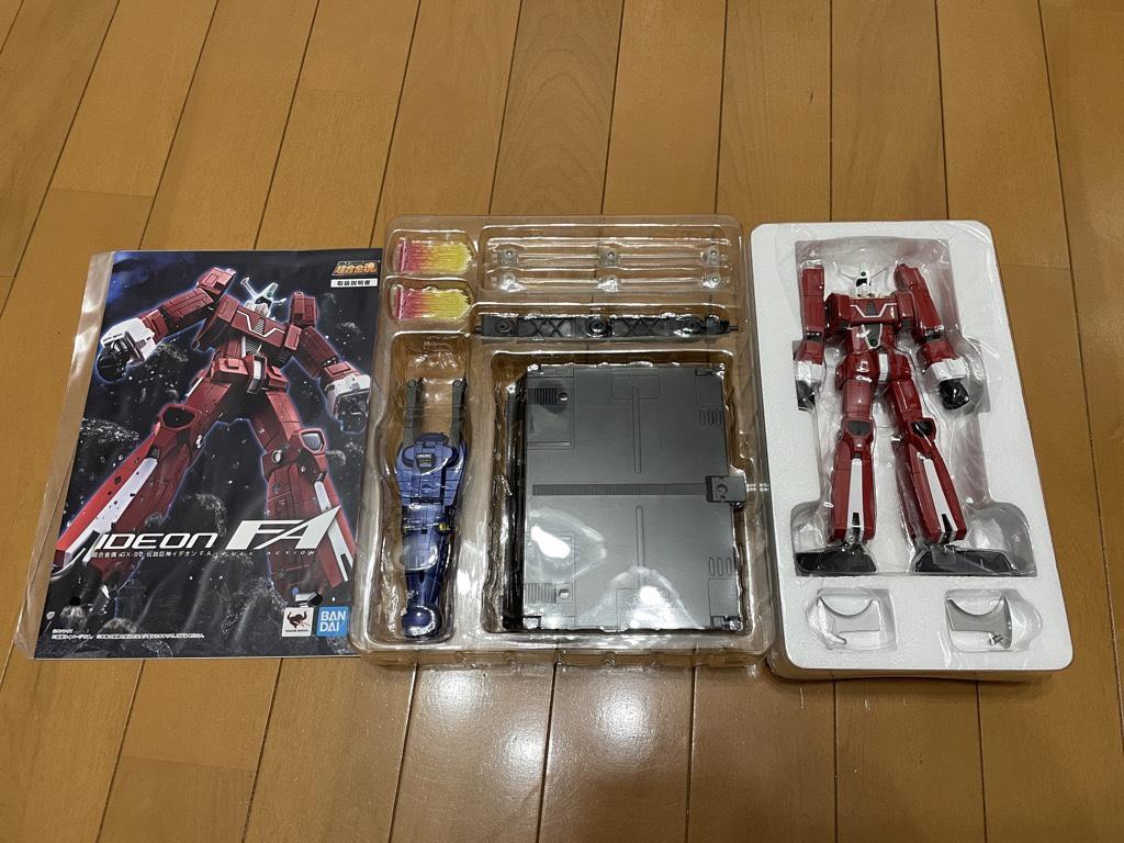 超合金魂 伝説巨人イデオン GX-92 伝説巨神イデオン F.A.付属品