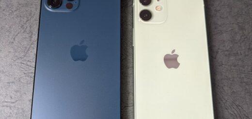 iPhone 12 miniとiPhone 12 Pro