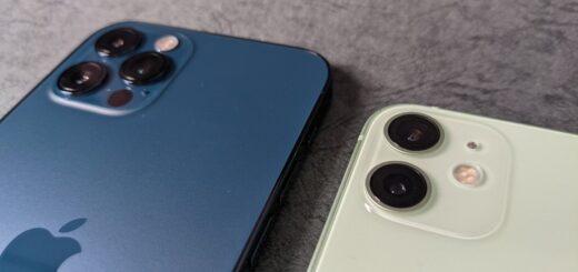 iPhone12シリーズのカメラ