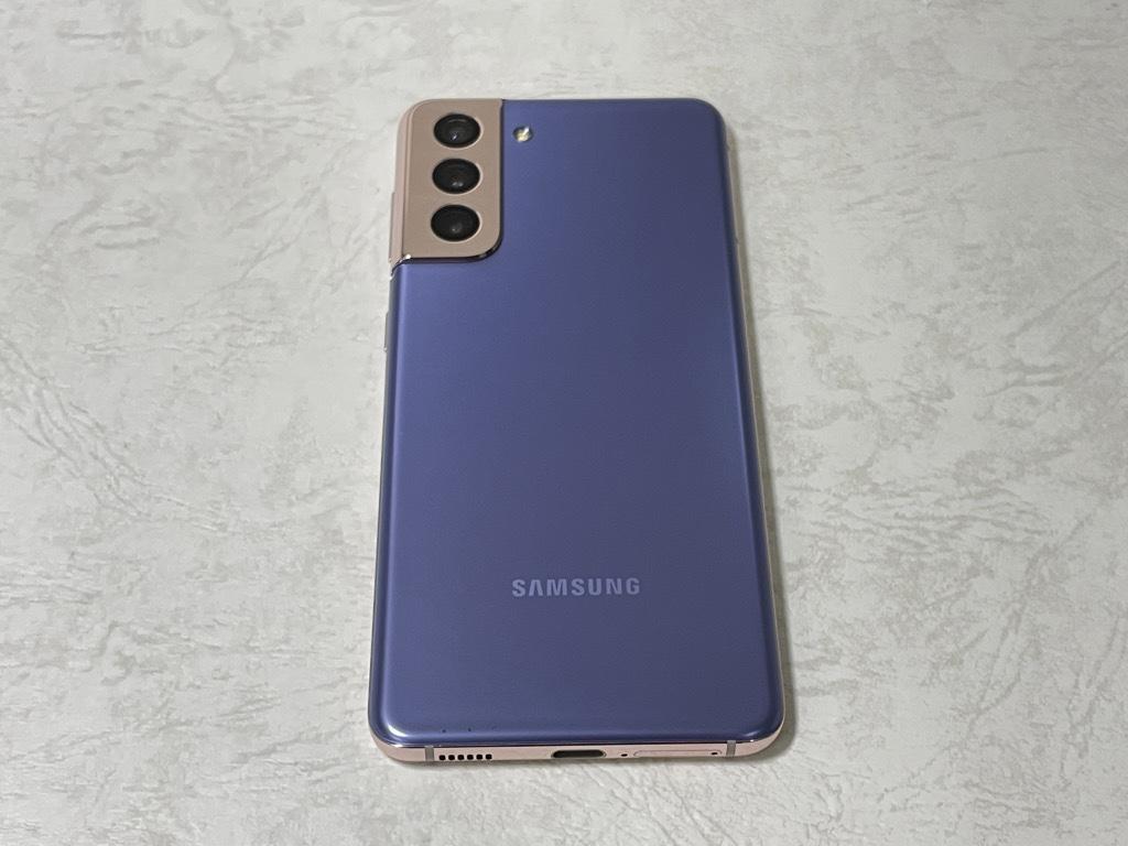 Galaxy S21背面
