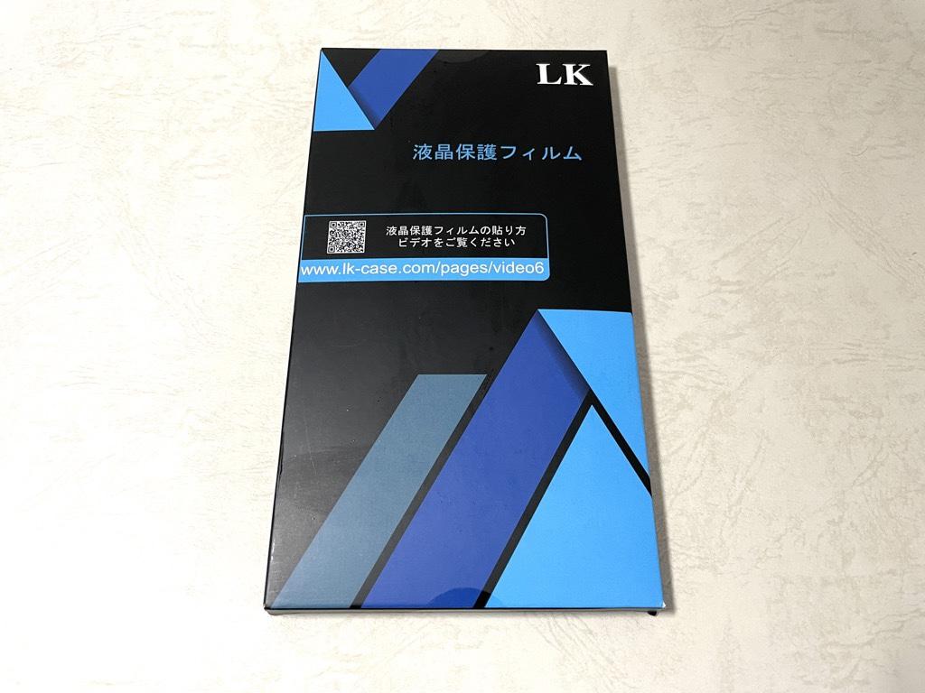 LKGalaxy S21保護フィルム箱