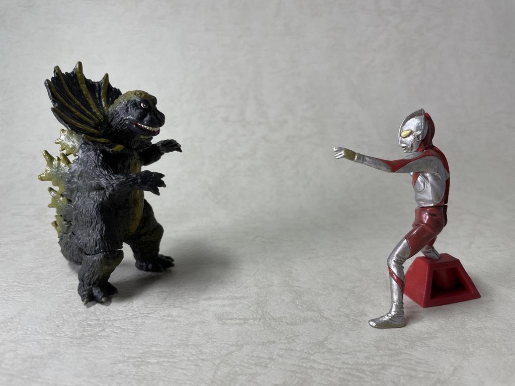 ジラースとウルトラマン