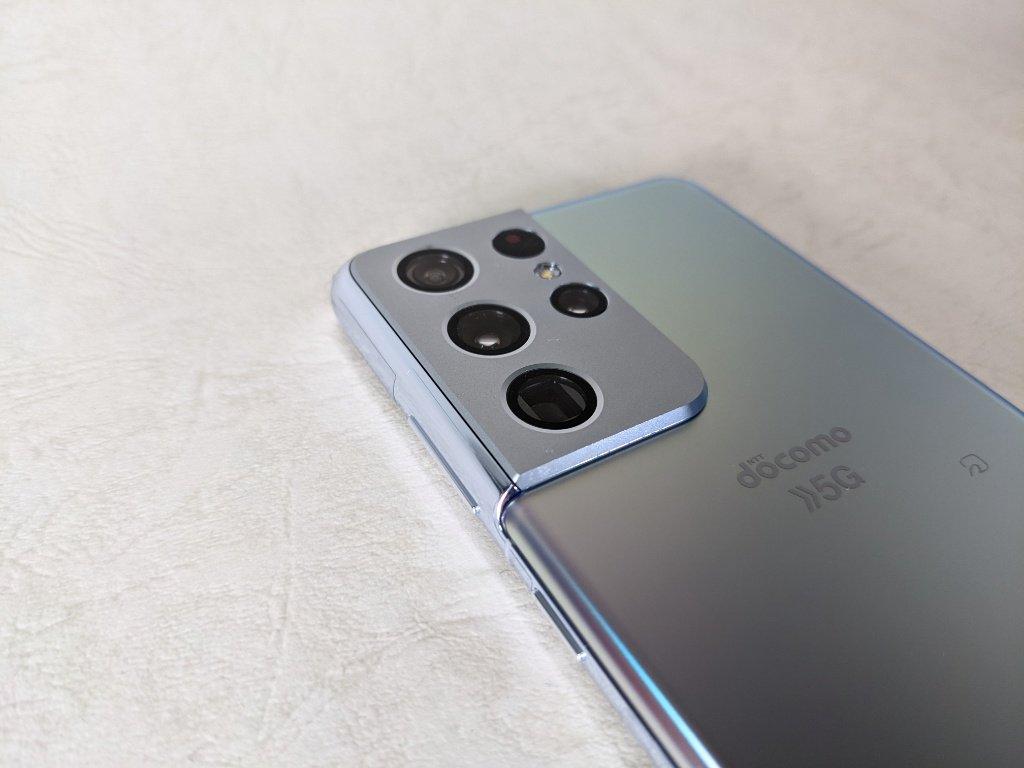 Galaxy S21 Ultra 5Gのカメラ