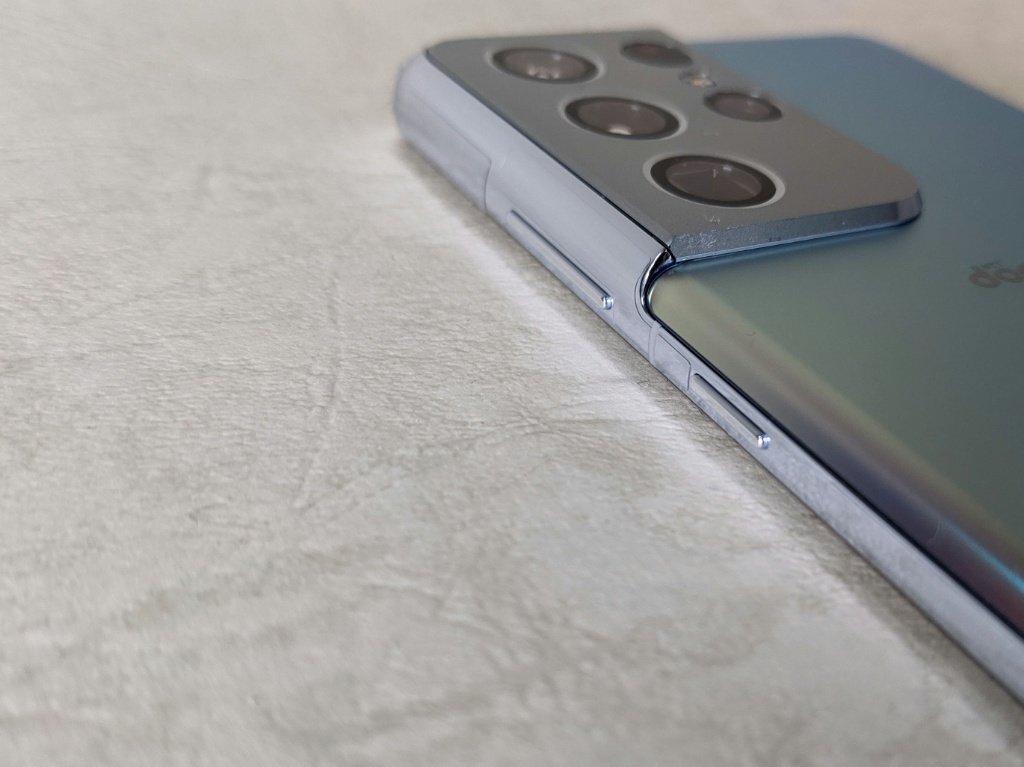 Galaxy S21 Ultra 5Gボタン