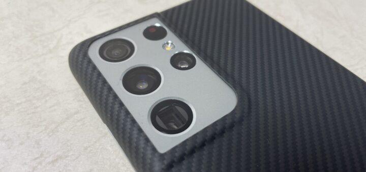 Galaxy S21 Ultra Air Caseカメラ
