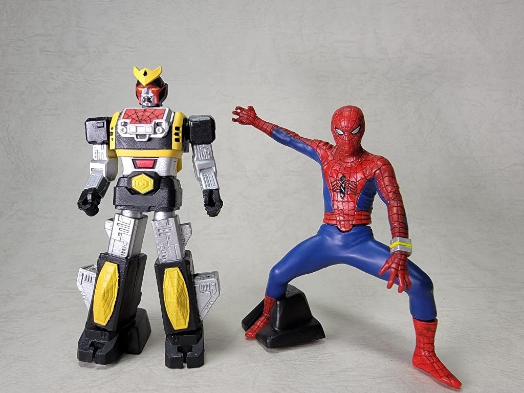 スパイダーマンとレオパルドン