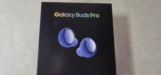 Galaxy Buds Pro外箱