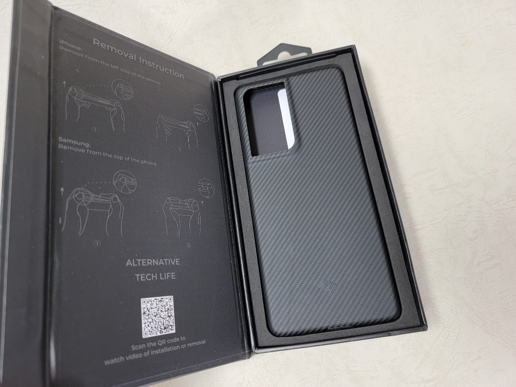 Galaxy S21 Ultra Air Case開封