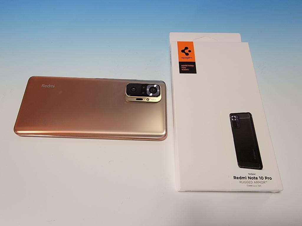 Redmi Note 10 Proケース箱