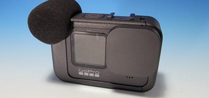 GoPro HERO9 レンズキャップ装着