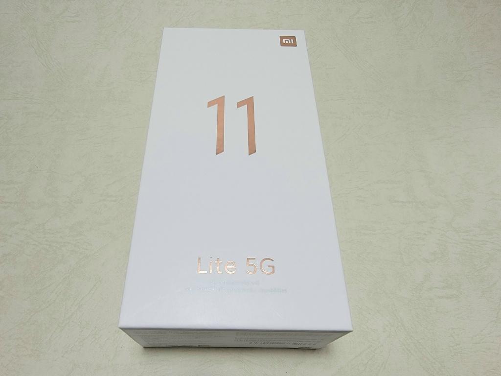 Mi 11 Lite 5G外箱