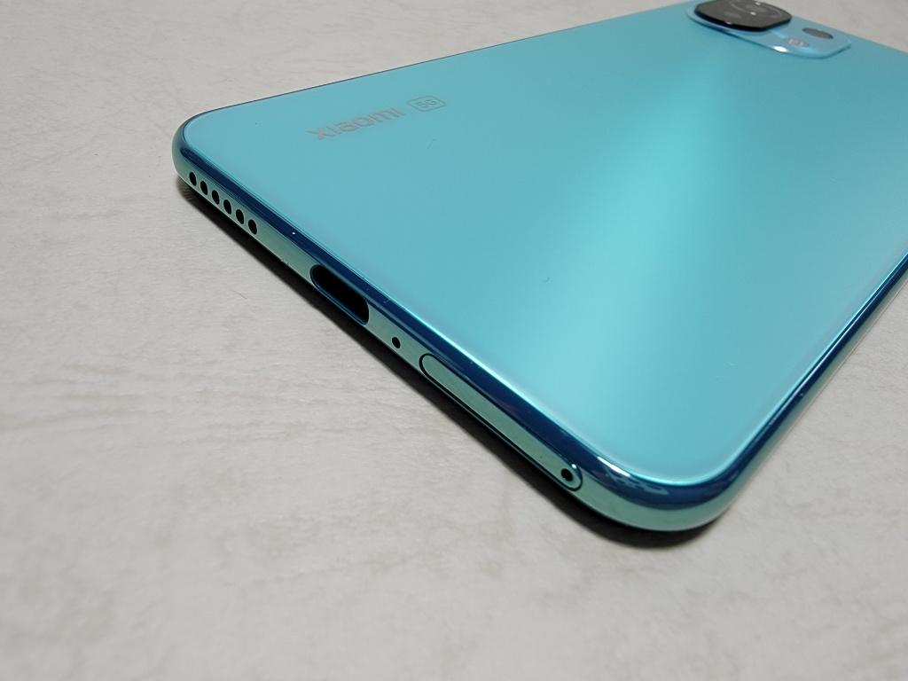 Mi 11 Lite 5G充電端子