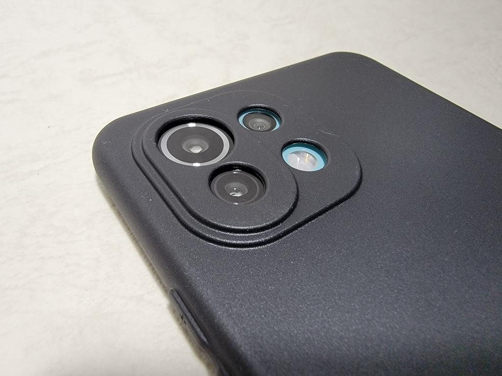 Mi 11 Lite 5Gケースカメラ周り