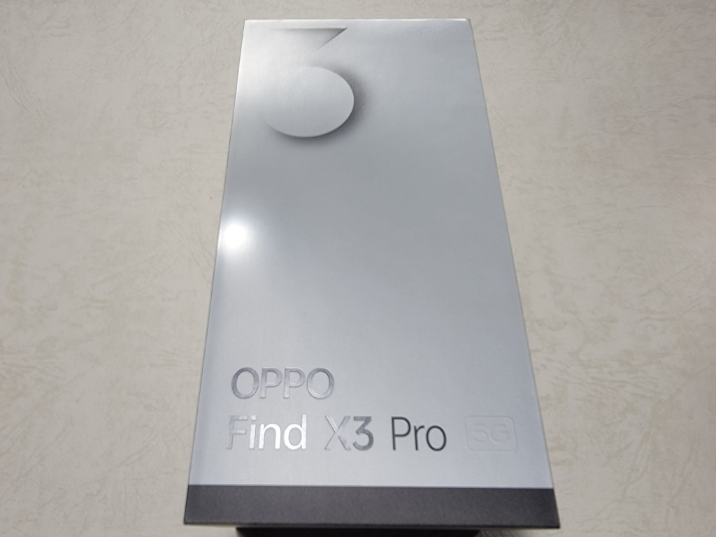 OPPO Find X3 Pro外箱