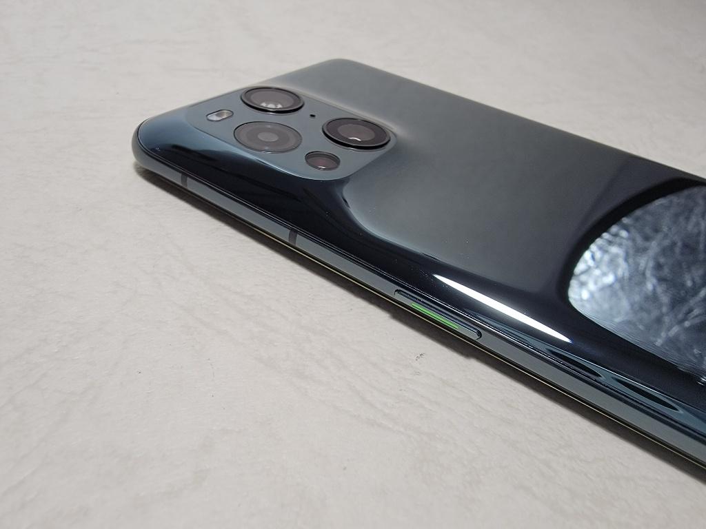 OPPO Find X3 Pro電源ボタン
