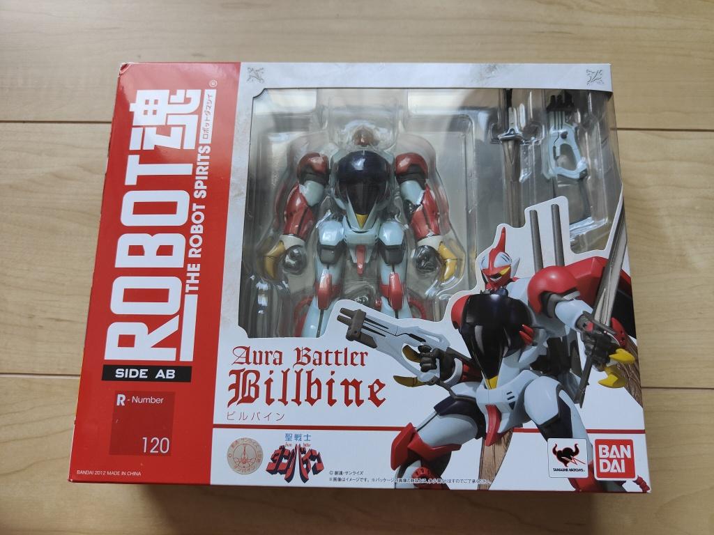 ROBOT魂ビルバイン箱