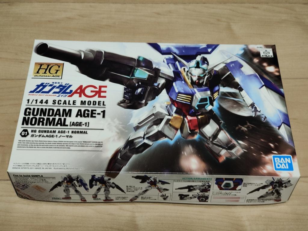 ガンダムAGE-1箱