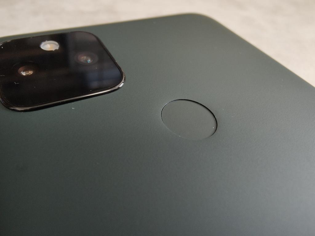 Pixel 5a指紋認証センサー