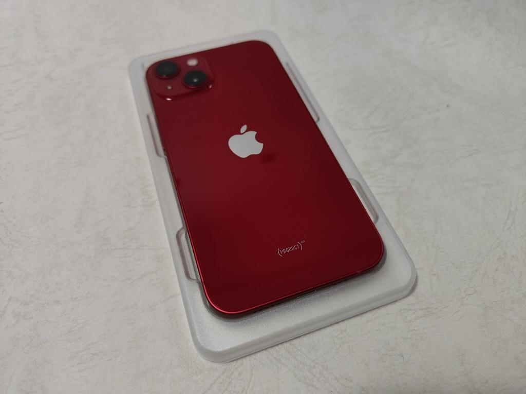 iPhone 13保護ガラス装着