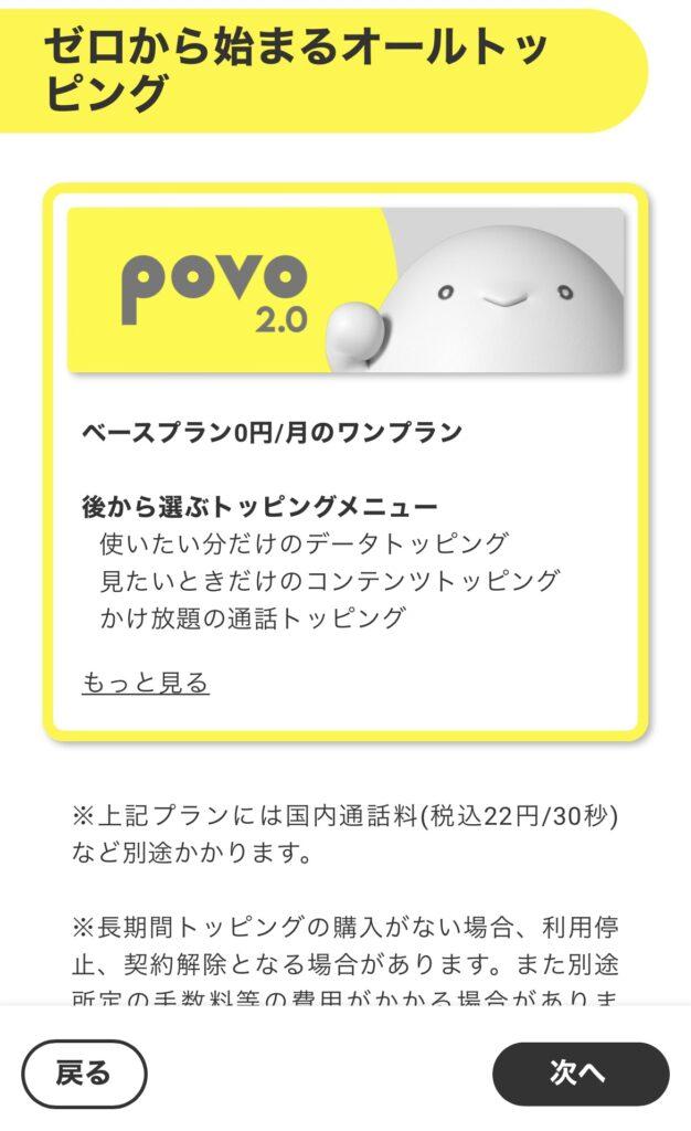 povo2.0説明