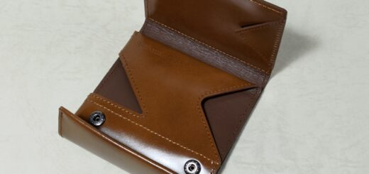薄い財布開封